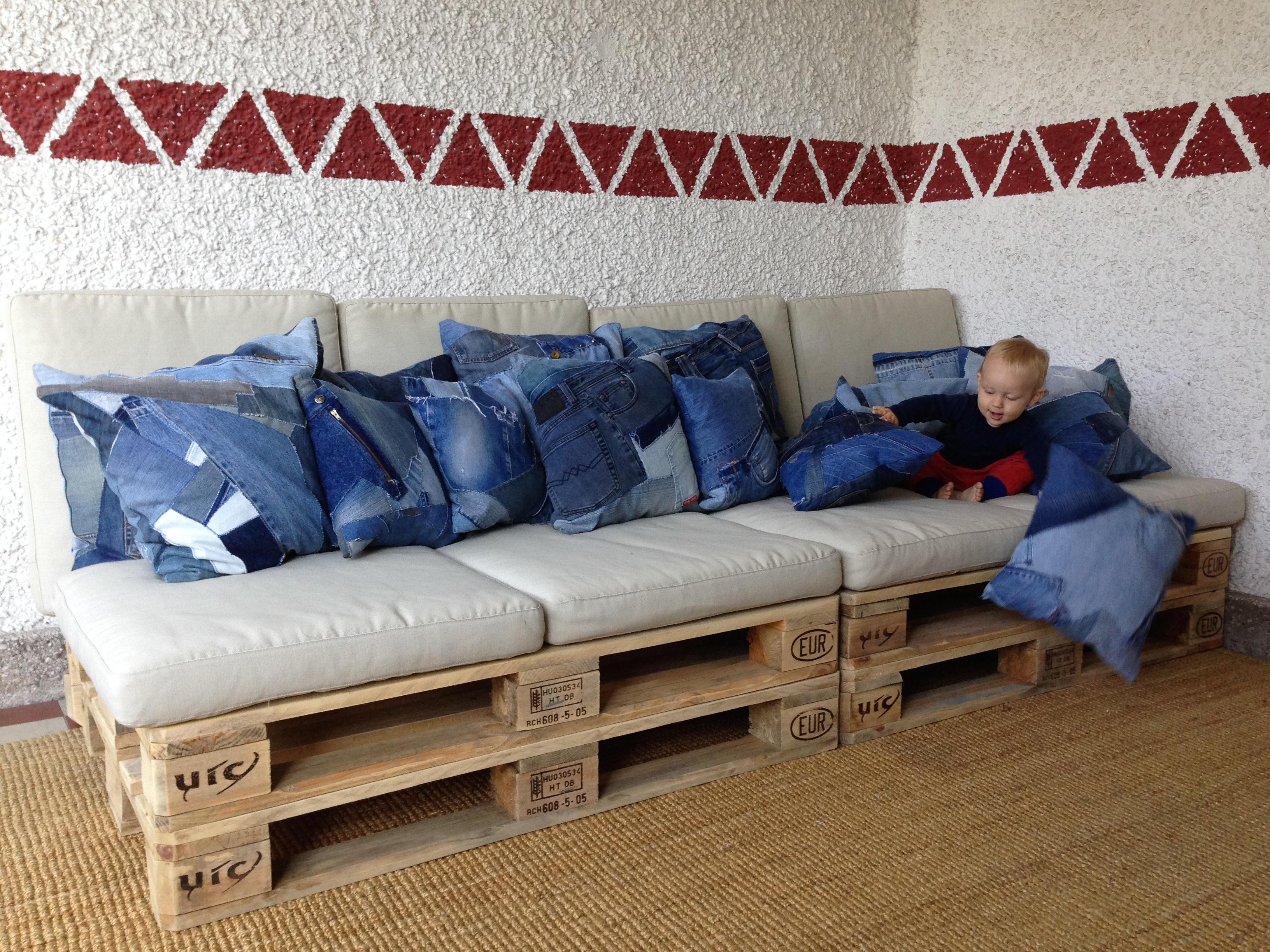 Paletten sofa shop - Palettenmobel sofa ...